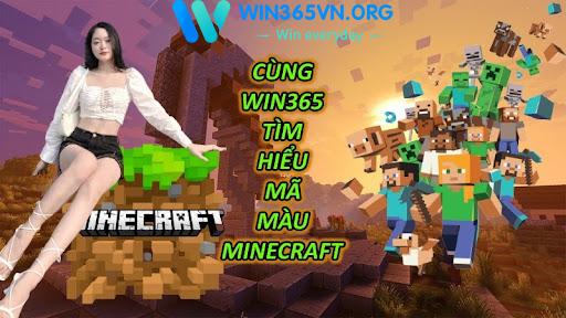 Cùng Win365 Tìm Hiểu Mã Màu Minecraft