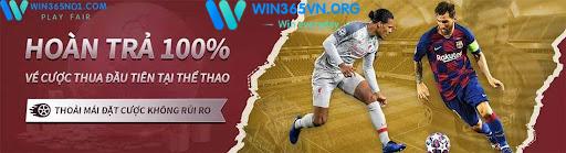 Khuyến mãi hoàn tiền Euro2021 của win365