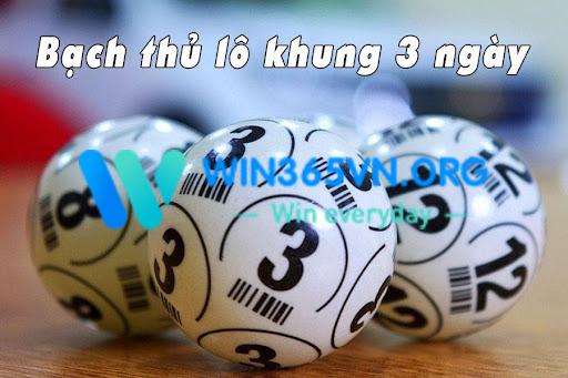 Lô bạch thủ khung 3 ngày là cách đánh được nhiều người chơi trong giới lô đề ưa chuộng
