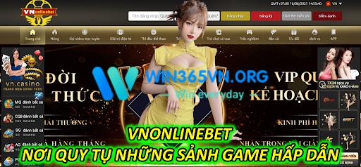 VNONLINEBET- Nơi Quy Tụ Những Sảnh Game Hấp Dẫn